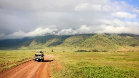 NGORONGORO CONSERVATION AREA - BASHAY RIFT