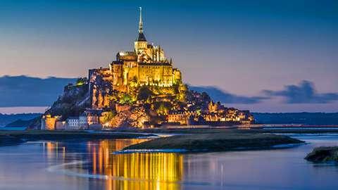 Mont Saint Michel - Saint Malo - Dinan