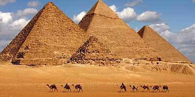Isabel y Victor, Egipto