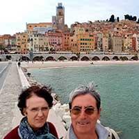 Conchi y Tomás, Riviera Francesa