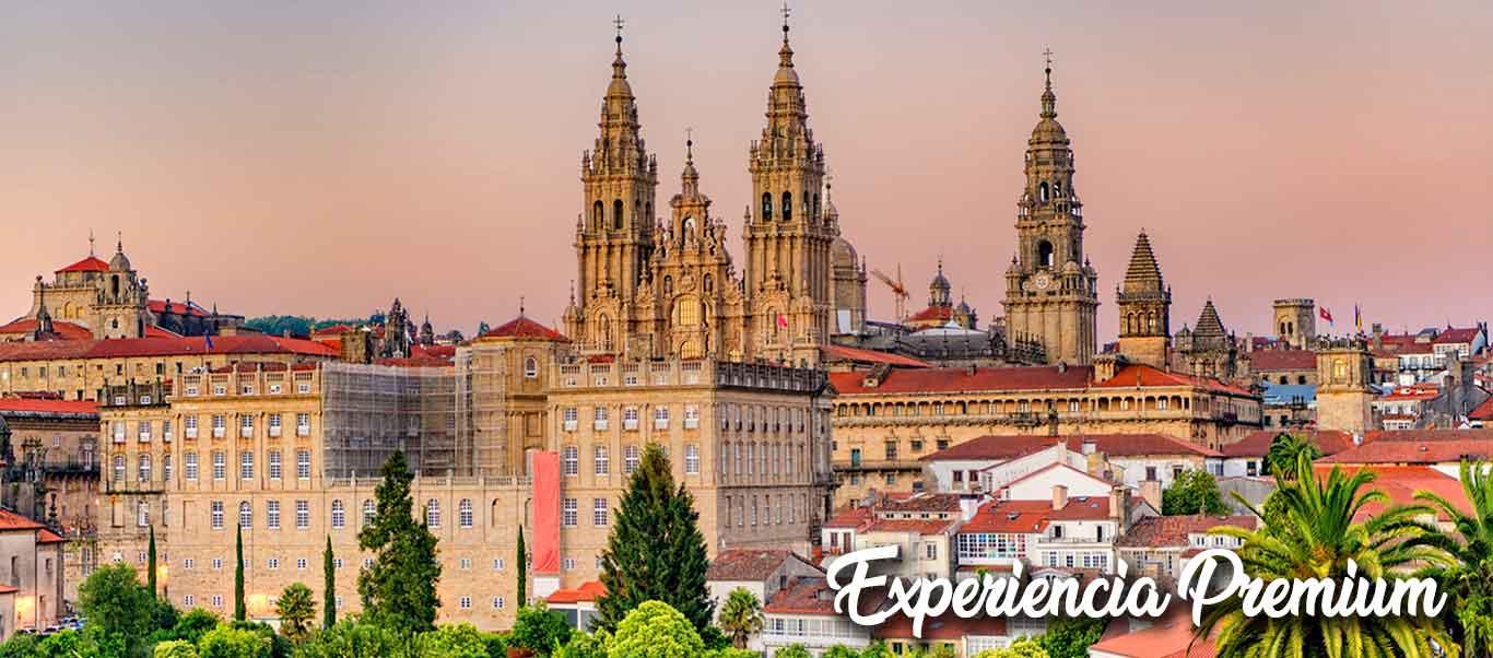 Santiago de Compostela, Orense & Lagos de Sanabria